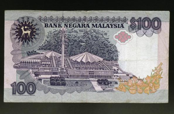 100 ringgit banknote